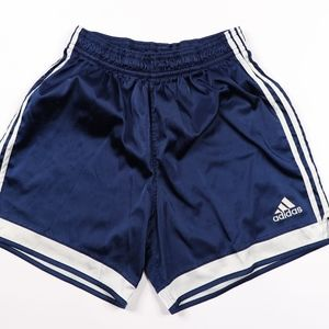 Vtg Adidas Mens Large Striped Silky Soccer Shorts
